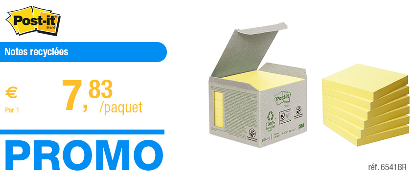Post-it Notes recycl