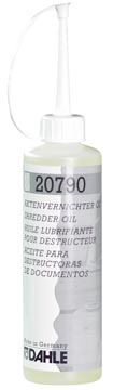 Dahle olie voor papiervernietigers, flacon van 250 ml