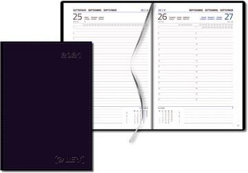 Gallery agenda Businesstimer, blauw, 2022