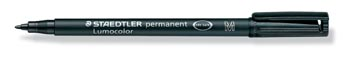 Staedtler OHP-marker Lumocolor Permanent zwart, medium 1 mm