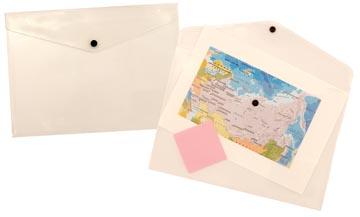 Beautone documentenmap, A4, transparant