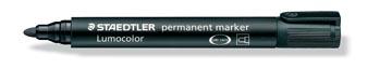 Staedtler permanente marker zwart, schrijfbreedte 2 mm, ronde punt
