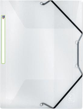 OXFORD 2nd Life elastomap, formaat A4, uit PP, transparant