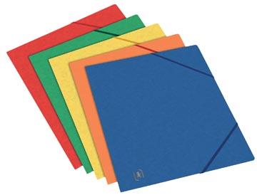 Elba Oxford Top File+ elastomap, voor ft A5, geassorteerde kleuren