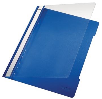 Leitz Snelhechtmap blauw, ft A4