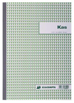 Exacompta kasboek, ft A4, Nederlandstalig, dupli (50 x 2 vel)
