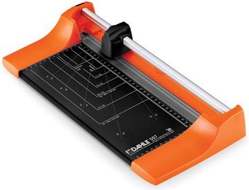 Dahle rolsnijmachine 507 voor ft A4, capaciteit: 8 vel, oranje