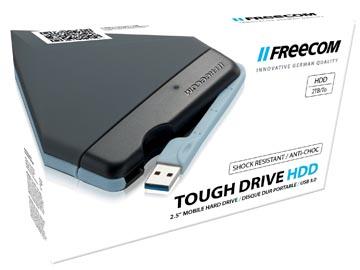 Freecom Tough Drive harde schijf, 2 TB