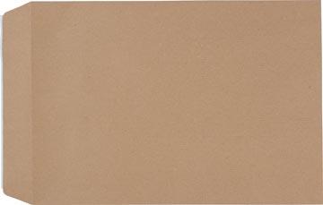 Pergamy kraftzakjes 90 g, ft C4: 229 x 324 mm, zelfklevend met strip, bruin, doos van 250 stuks