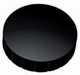Maul magneet MAULsolid, diameter 32 x 8,5 mm, zwart, doos met 10 stuks