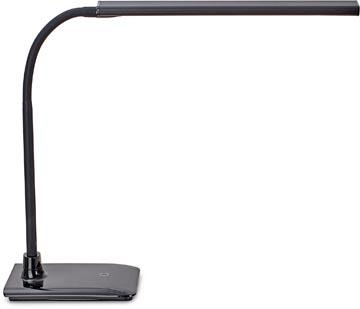 Maul bureaulamp MAULpirro, LED-lamp, dimbaar, met voet, zwart