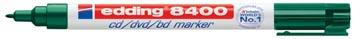 Edding permanent marker voor CD/DVD/BD e-8400 groen