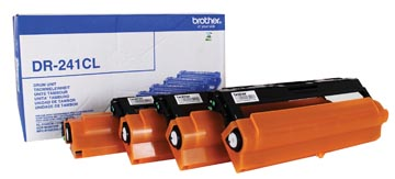 Brother drum, 15.000 pagina's, OEM DR-241CL, zwart