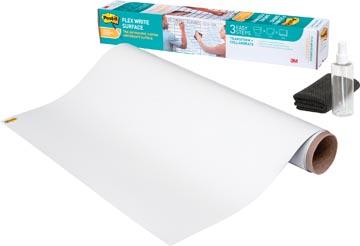 Post-It Flex Write whiteboardfolie op rol, ft 121,9 x 182,9 cm