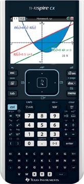 Texas grafische rekenmachine TI-Nspire CX II-T