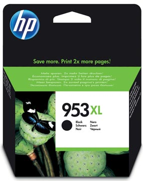 HP cartouche d'encre 953XL, 2.000 pages, OEM L0S70AE, noir
