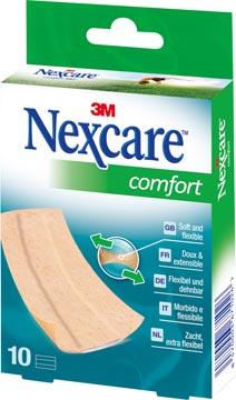 3M pleister Nexcare Comfort 360° ft 10 x 6 cm, te verknippen, pak van 10 stuks