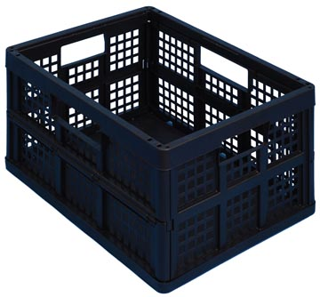 Really Useful Box plooibox 32 liter, zwart