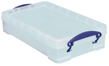 Really Useful Box opbergdoos 4 liter, transparant