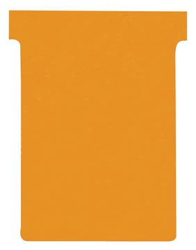 Nobo T-planbordkaarten index 3, ft 120 x 92 mm, oranje