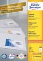 Avery Zweckform 3483, Universele etiketten, Ultragrip, wit, 100 vel, 4 per vel, 105 x 148 mm