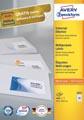 Avery Zweckform 3651, Universele etiketten , Ultragrip, wit, 100 vel, 40 per vel, 52,5 x 29,7 mm