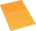 Pergamy L-map met venster, pak van 100 stuks, oranje
